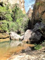 Madagascar - Isalo : canyon