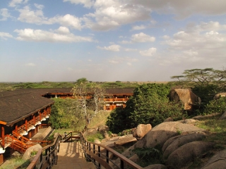 Serengeti : le lodge