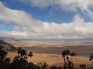Cratère du Ngorongoro : caldera