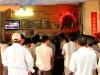 Cambodge - Phnom Penh : boxe à la télé