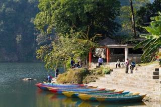 Népal - Pokhara : le lac
