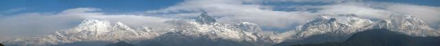 Népal - Sarangkot : les Annapurnas