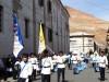 Bolivie : Potosi - fanfare majorettes