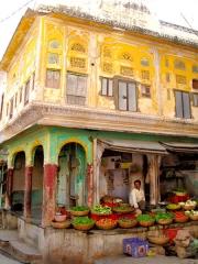 Inde - Puskar : scène de rue