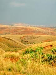 Madagascar - route de l'Ouest : paysage