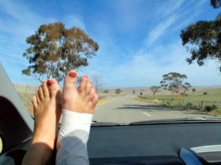 Australie : sur la route en quittant les Flinders Ranges
