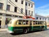 Chili - Valparaiso : bus rétro