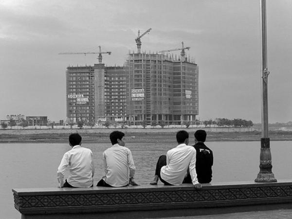 Cambodge - Phnom Penh : la rivière