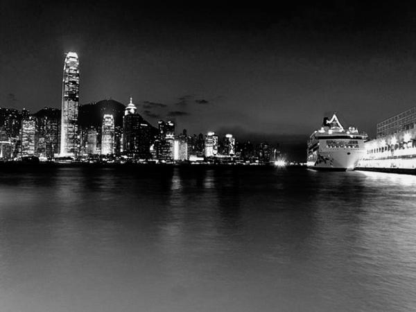 Hong Kong : cruise's pier
