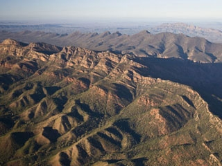 Australie - Flinders Ranges : Great wall of china