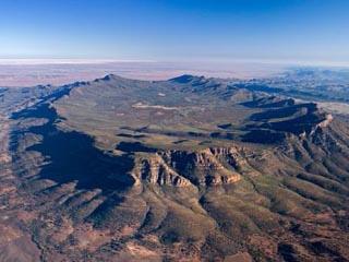 Australie - Flinders Ranges : Wilpena Pound