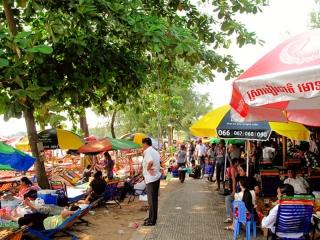 Cambodge - Sihanoukville : Ocheteal beach