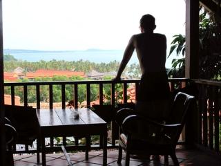 Cambodge - Sihanoukville : Chez Claude, notre bungalow