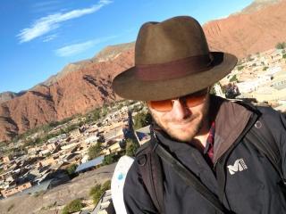 Bolivie : Tupiza - le joli chapeau de Benjamin