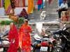 Inde - Udaipur : vie autour du temple