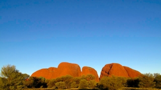 Australie - Monts Olga : sunset