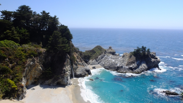 USA - Côte Pacifique : Julia Pfeiffer Burns State Park