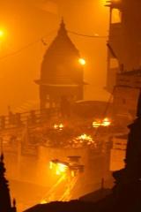 Inde - Varanasi : arrivée nocturne