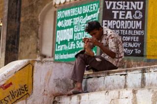 Inde - Varanasi : scène de vie